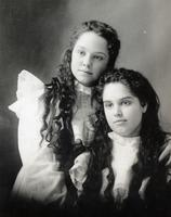2 Unknown Girls, Brownie Club, DeKalb Chronicle Souvenir Book 1899, Page 133