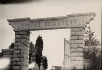 Victor Cemetery Gate, Victor Township