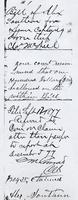 Bill of Alexander Southun for Expense Capturing Horse Thief, Chas McNeil