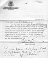 Authorization for Edgar P. Coleman