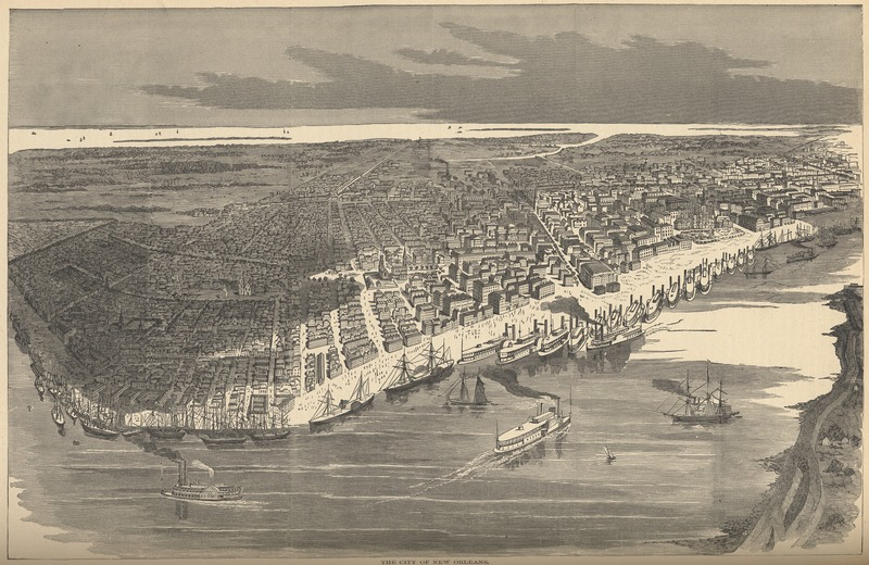 New Orleans in the 1850s