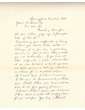 Letter to James Somers From Abraham Lincoln