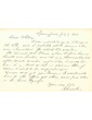Autograph Letter of Abraham Lincoln, July 9, 1856