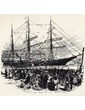 American Colonization Society: Ship Leaving New York City Bound for Liberia