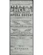 Advertisement for Phelp's Burlesque Ethiopian Opera House at Warner's Hall, 104 Randolph Street; Chicago, Illinois