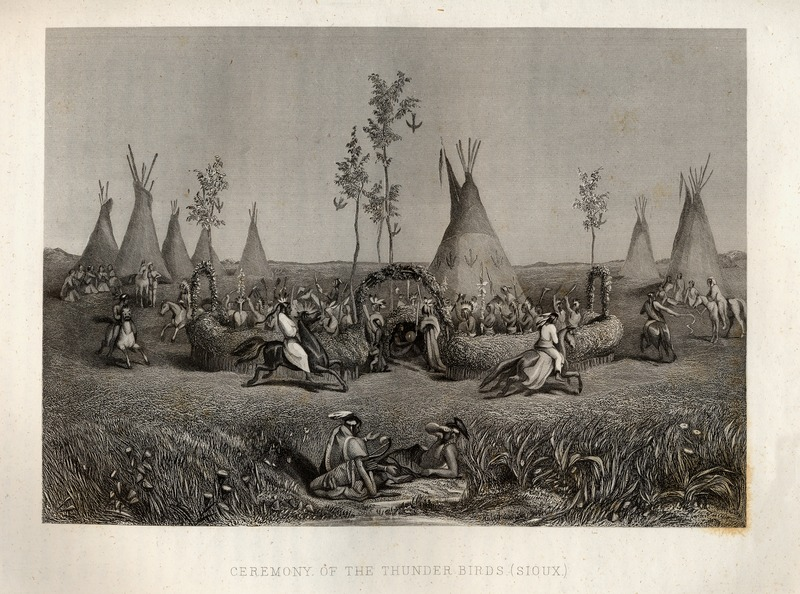 Sioux perform Ceremony of the Thunder Birds