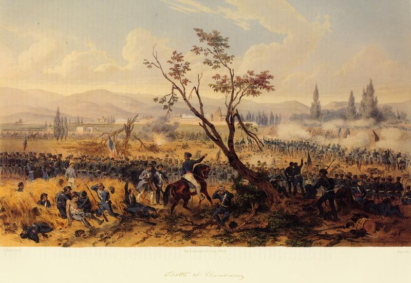 Battle of Churubusco - Mexican War