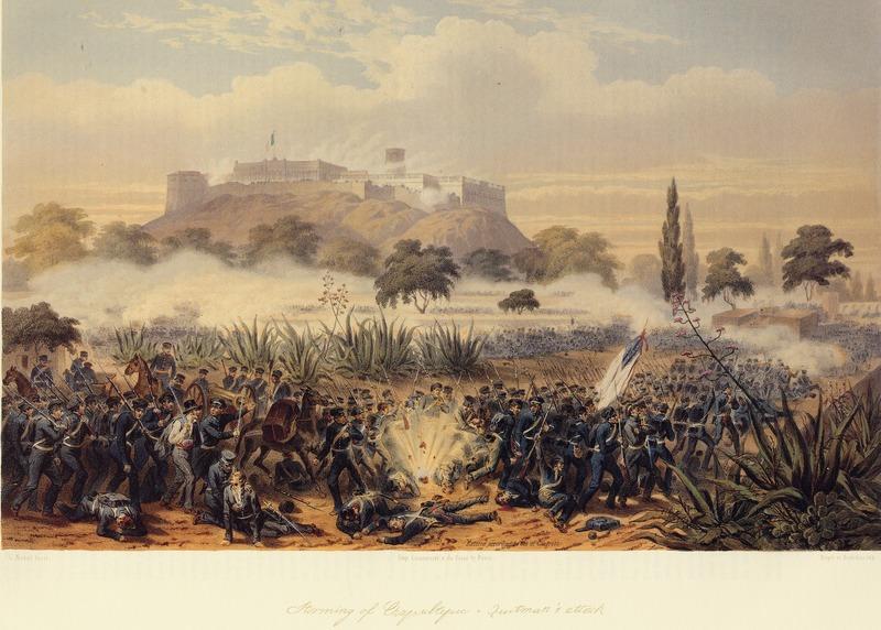 Storming of Chapultapec - Putnam's Attack