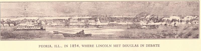 Peoria in 1854