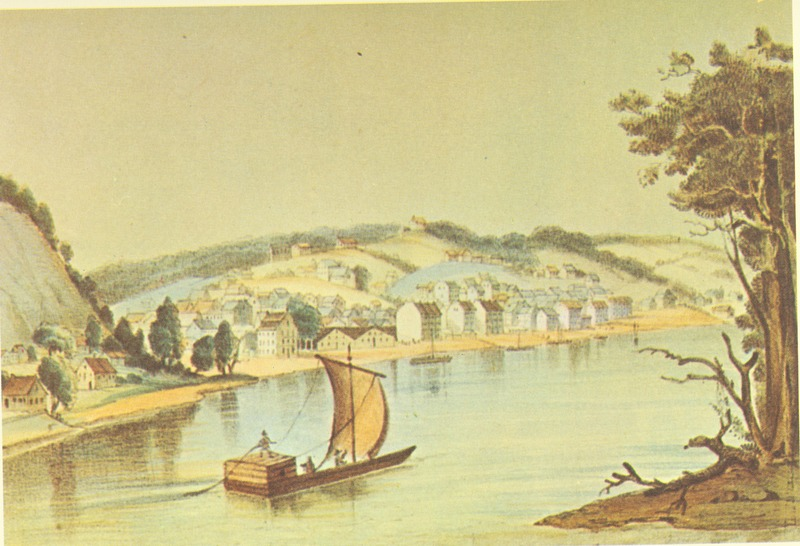 Hannibal, Missouri in the 1840s