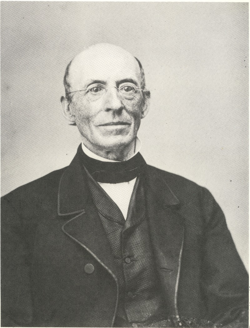 Portrait of William Lloyd Garrison