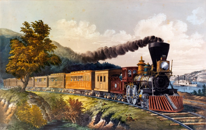Railroad, circa 1850s