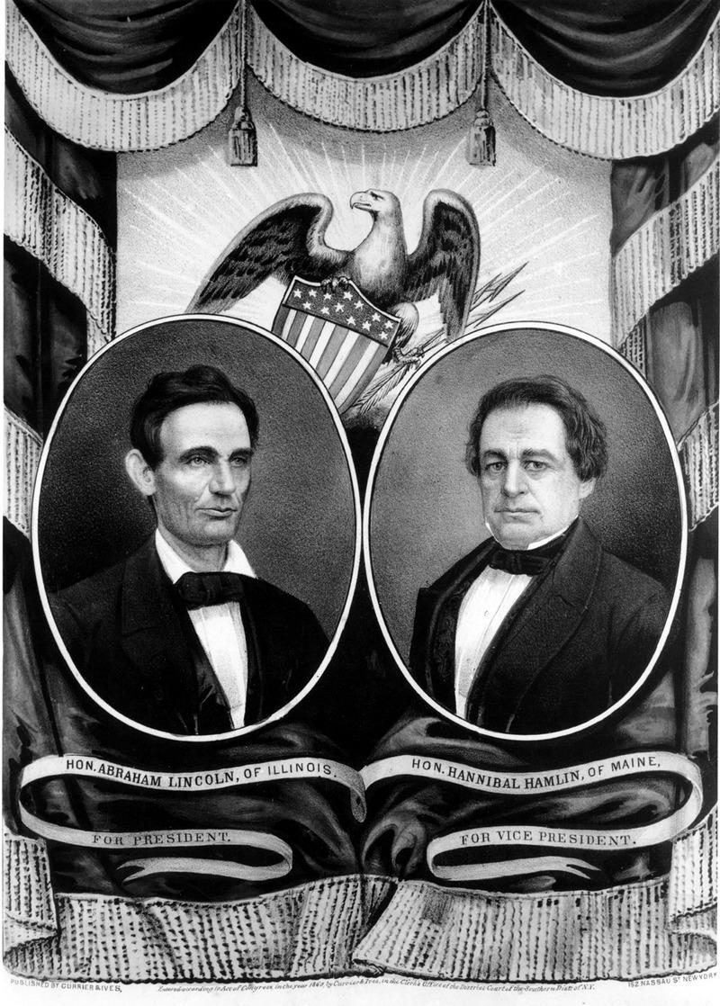 Republican Party Banner, 1860