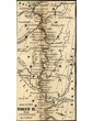 Map of the Ohio River from Cincinnati to Cairo