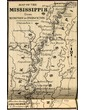 Map of the Mississippi River From Memphis to Princeton