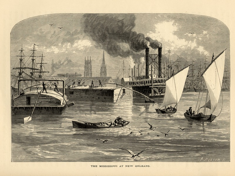 The MIssissippi at New Orleans, 1892