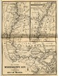 Map of the Mississippi River From Princeton to the Gulf of Mexico