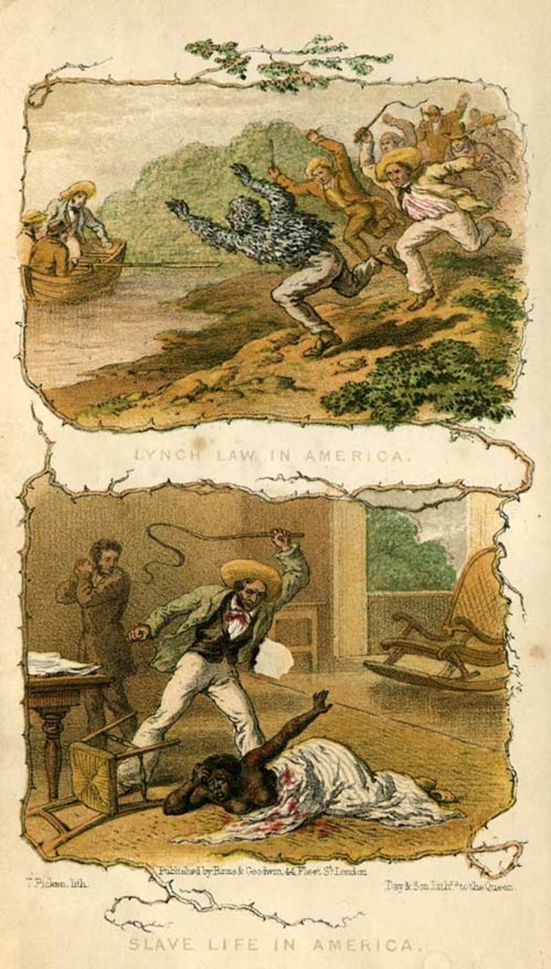 Lynch Law in America, 1853