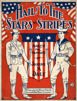 Hail! to the stars and stripes
