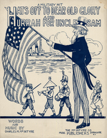 Hats off to dear old glory and hurrah for Uncle Sam