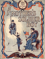 A mother's soldier boy