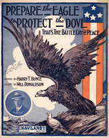Prepare the eagle to protect the dove