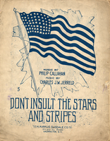 Don't insult the stars and stripes