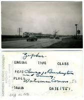 Chicago, Burlington and Quincy Railroad, Waterman, Illinois