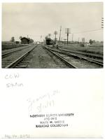 Chicago, Burlington and Quincy Railroad, Zearing, Illinois Station