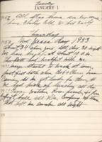 Kate Vanderhoof Diaries (1952-1953)