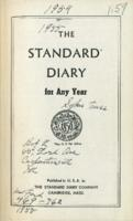 Kate Vanderhoof Diaries (1954-1955)