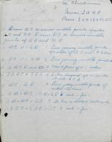 Margaret Christiansen School papers and lesson plans (1925)