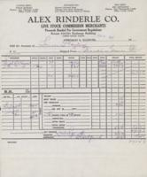 Live Stock Commission Merchants Company Invoices (1953-1965)