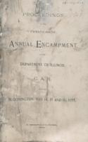 Proceedings of the twenty-ninth annual encampment of the Department of Illinois G. A. R. held at Bloomington, May 14, 15 and 16, 1895.