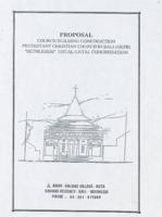 "Proposal, church building construction protestant Christian church in Bali (GKPB) ""Bethlehem"" untal-untal congregation (April 1999)"