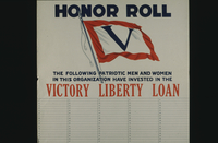 Honor roll....Victory Liberty Loan