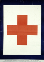 Only red cross members are permitted to display this service flag