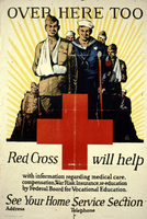 Over here too Red Cross will help