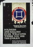 """Encircle the camps with hospitality"" Soldiers and Sailors ever welcome ..."