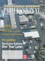 Emergency number professional magazine. Volume 24, Number 7 (September 2006)