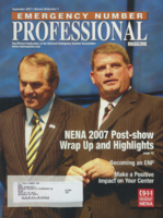 Emergency number professional magazine. Volume 25, Number 7 (September 2007)