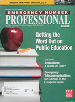 Emergency number professional magazine. Volume 26, Number 3 (April 2008)