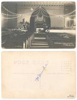 Interior Cong'l Church, Lee Center, Children's Day 1912