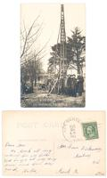 Drilling Well for Haskel Lodge I.O.O.F 1004, Lee Center, Ill, Feb 20, 1913