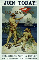 Join today U.S. Marines The service with a future
