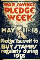 War savings pledge week May 11 to 18