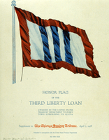 Honor flag of the 3rd Liberty Loan
