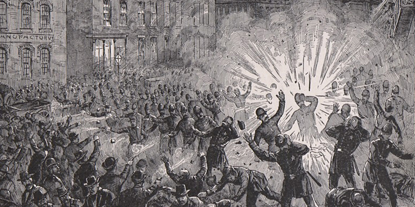 The Haymarket Riot. The Explosion and the Conflict