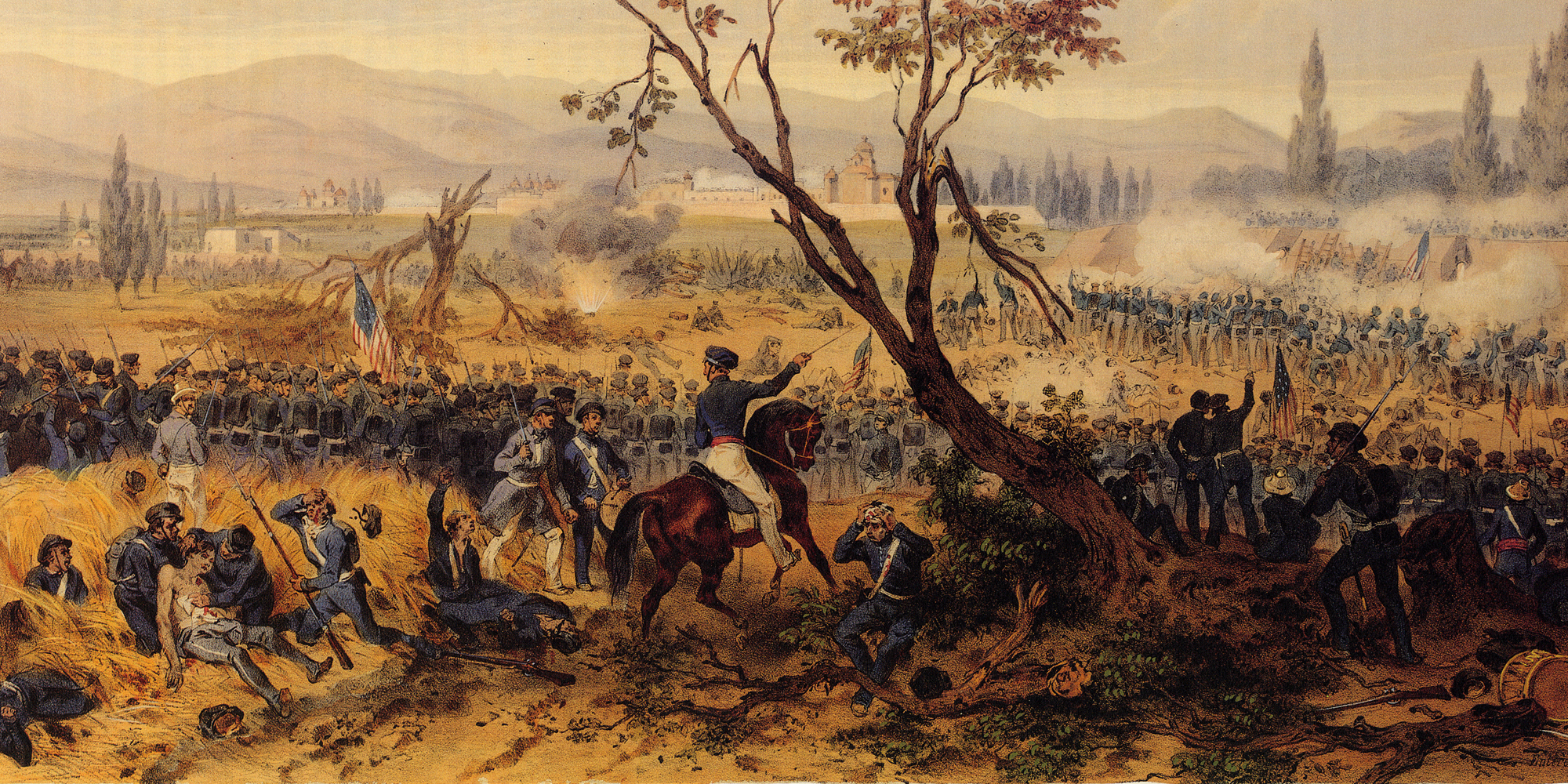 Battle of Churubusco - Mexican War