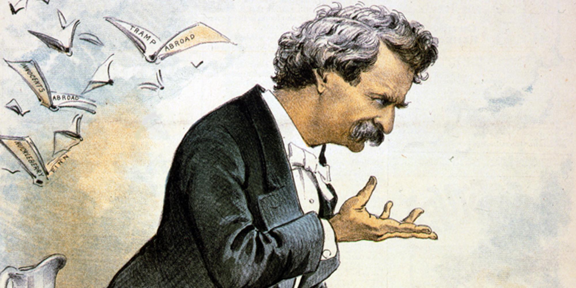"""Mark Twain,"" America's Best Humorist"